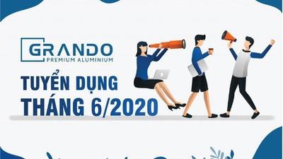Công ty cổ phần Nhôm Đô Thành thông báo tuyển dụng tháng 6-2020