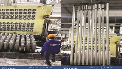 Nhà máy nhôm Hải Dương khai lò mẻ Billet đầu tiên