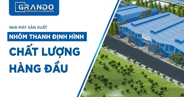 Nhà máy sản xuất Nhôm Thanh định hình chất lượng hàng đầu