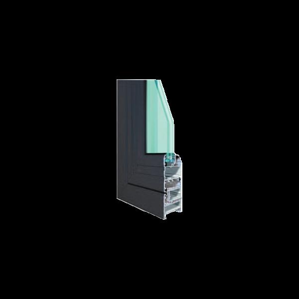 Nhôm hệ GD-XF 55