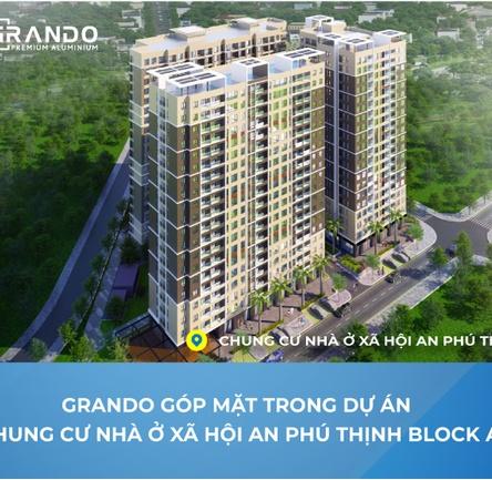 Chung cư nhà ở xã hội An Phú Thịnh - Quy Nhơn