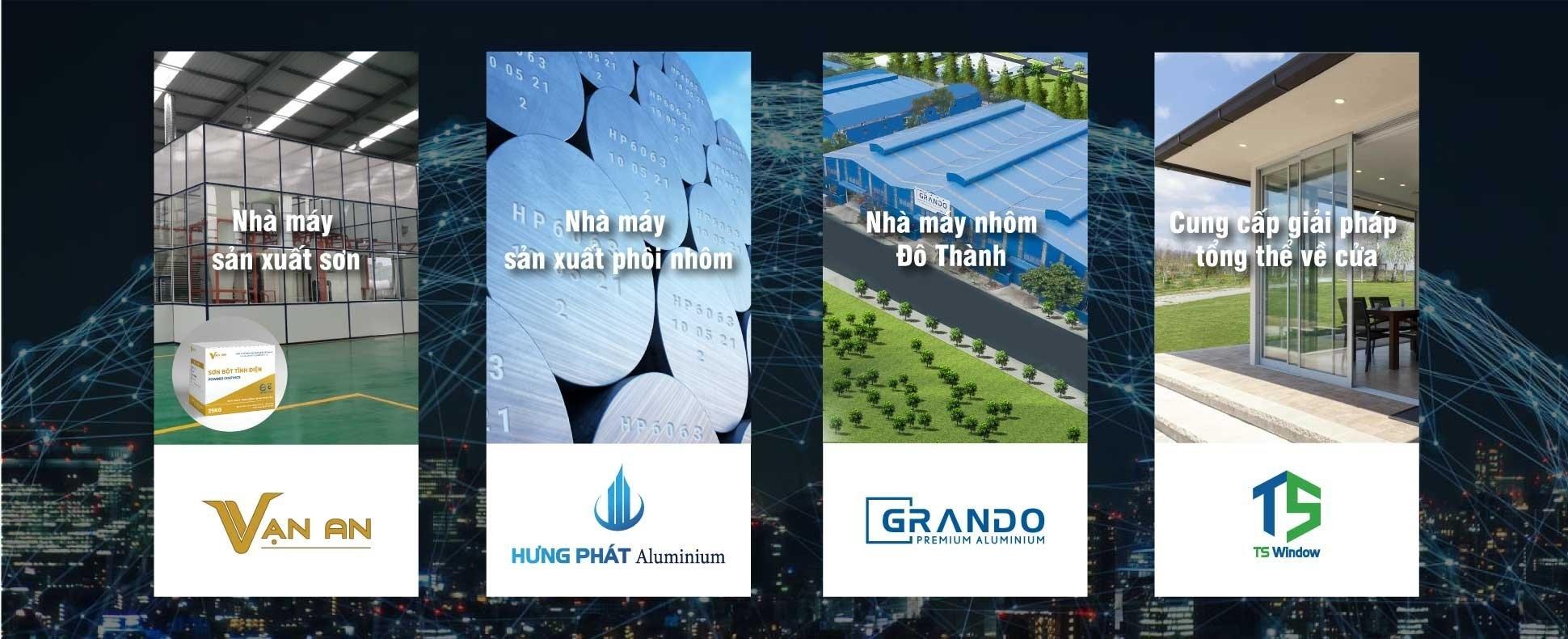 do thanh aluminium factory
