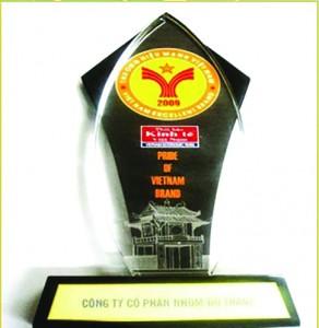Cúp vàng thương hiệu mạnh toàn quốc 2009