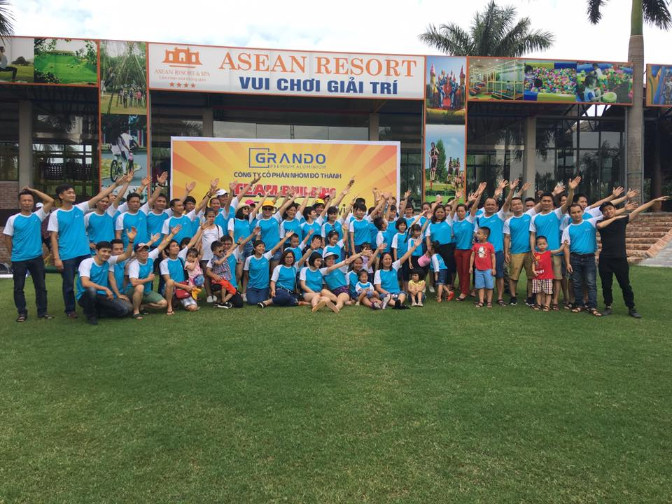 TEAM BUILDING 2017 NHÔM ĐÔ THÀNH – TOGETHER WE WIN