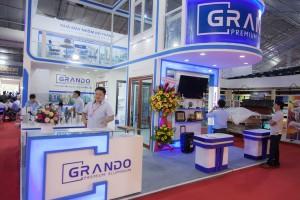 Ấn tượng với gian hàng đẳng cấp của Grando tại Vietbuild 2018 TP.HCM