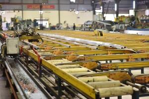 Dây chuyền sản xuất tiên tiến tại nhà máy Nhôm Đô Thành