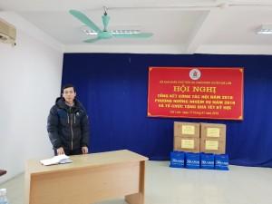 Đại diện nhà máy Nhôm Đô Thành phát biểu.