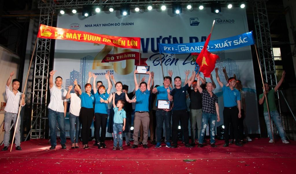Lễ kỉ niệm 25 năm thành lập công ty CP Nhôm Đô Thành