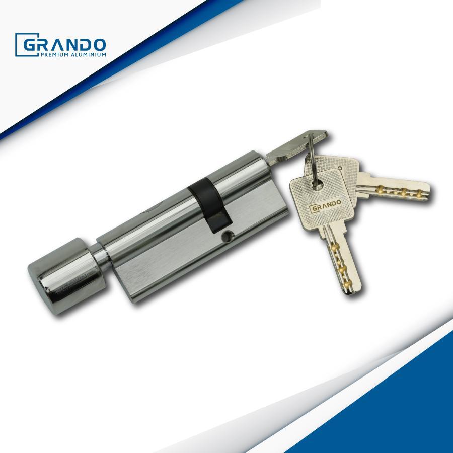 Mẫu khóa 1 đầu chìa