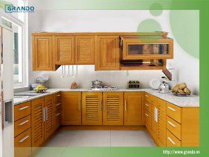 Tủ Bếp Nhôm Grando Eco - Lựa chọn hoàn hảo cho không gian nhà bếp