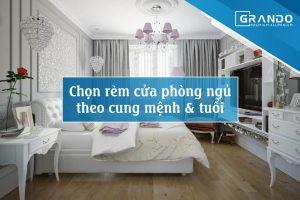NGUYÊN TẮC CHỌN RÈM CỬA PHÒNG NGỦ THEO PHONG THỦY