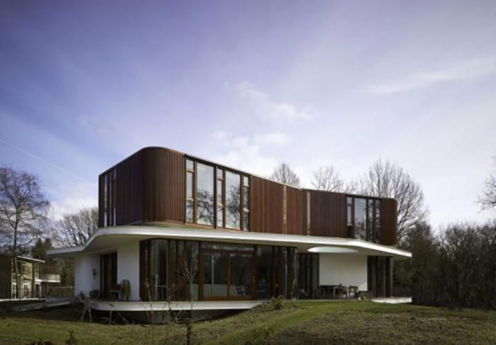 Thiết kế ngôi nhà tương lai mang phong cách Retro